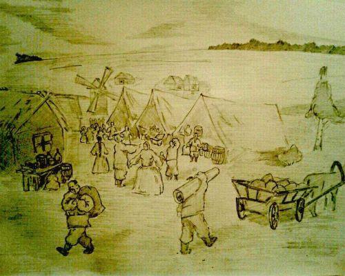 Краткое содержание «Сорочинская ярмарка»